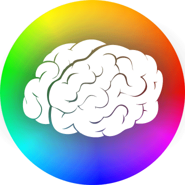 Brain and Color Wheel