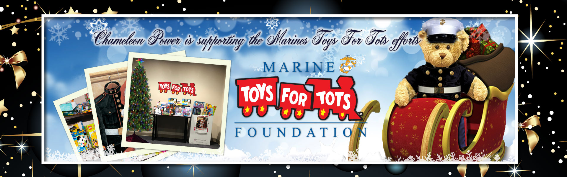Supporting Marines Toys for Tots Foundation