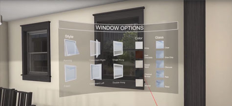VR Window Demo