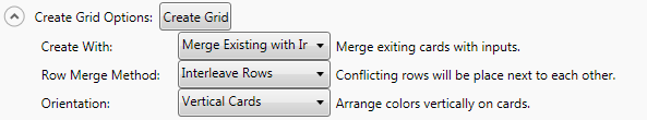 Merge Existing With Input